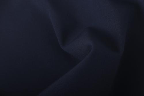 Softshell zimní s fleecem, 1 metr, tmavě modrý