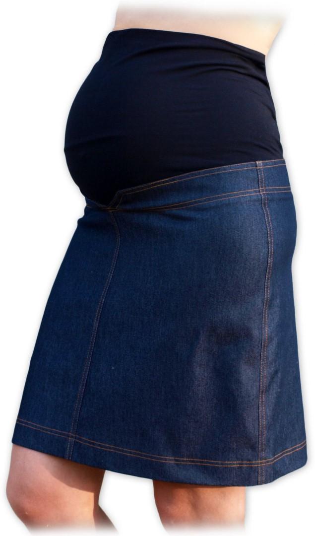 Těhotenská sukně riflová Klára