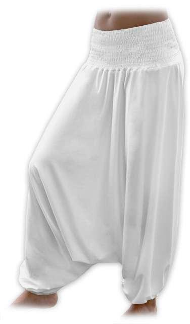Türkische Hose für Schwangere, Sahnefarbe