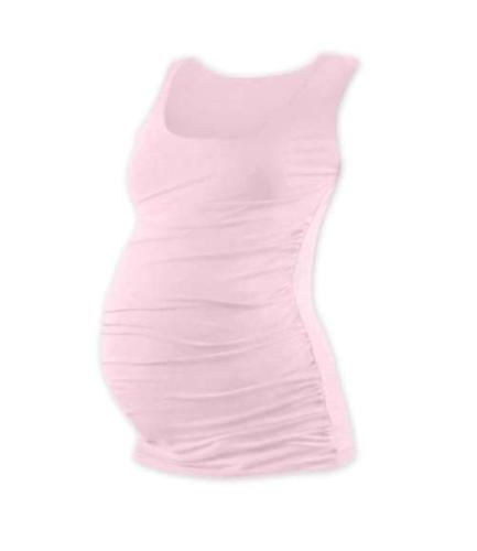 Tehotenské tielko Johanka, svetlo ružové