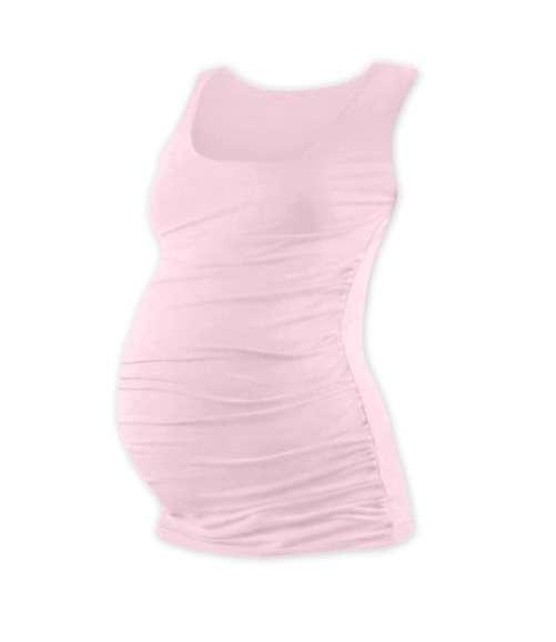 Těhotenské tílko Johanka, světle růžové