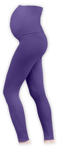 těhotenské legíny fialové