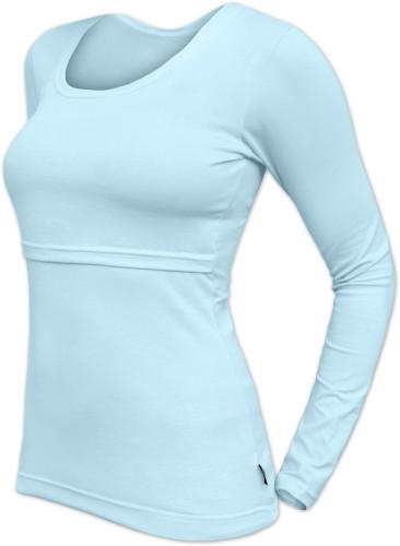 Kojicí tričko Kateřina, dlouhý rukáv, světle modré