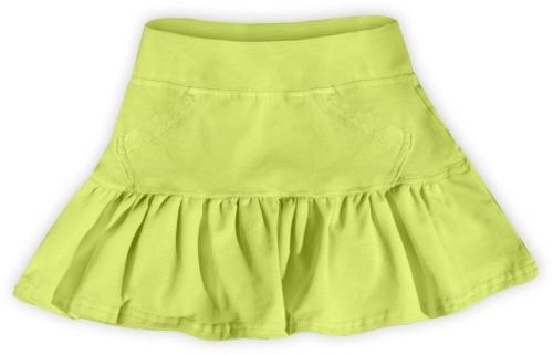 Dievčenské (detská) sukne, SVETLE ZELENÁ