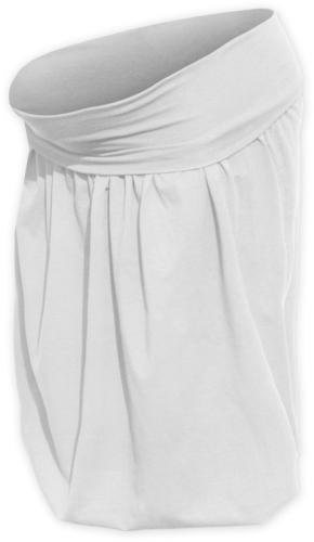 Maternity balloon skirt Sabina, cream