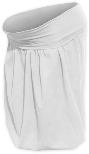 Tehotenská sukňa balónová Sabina, smotanová