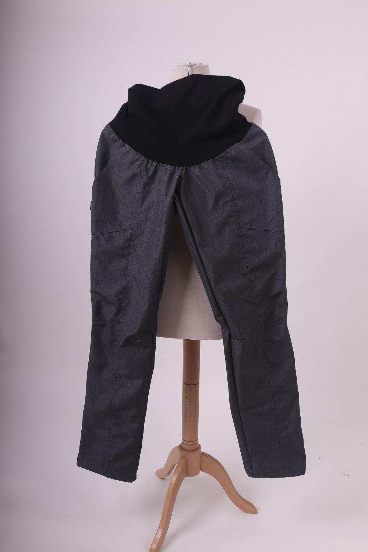 Jarní/letní těhotenské softshellové kalhoty, 38