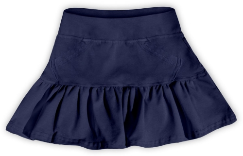 Girl's skirt, dark blue
