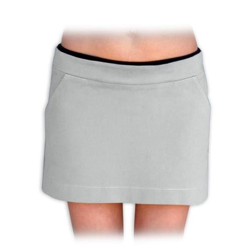 Tehotenská sukňa Monika, šedá
