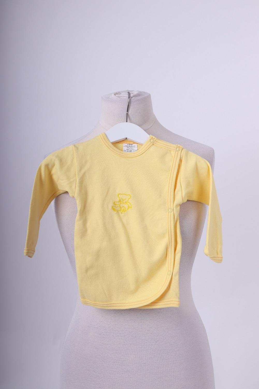 Kojenecký kabátek, žlutý, 74