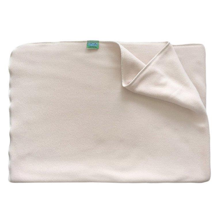Deka do kočárku teplá, fleece, krémová rozměr 70x100cm