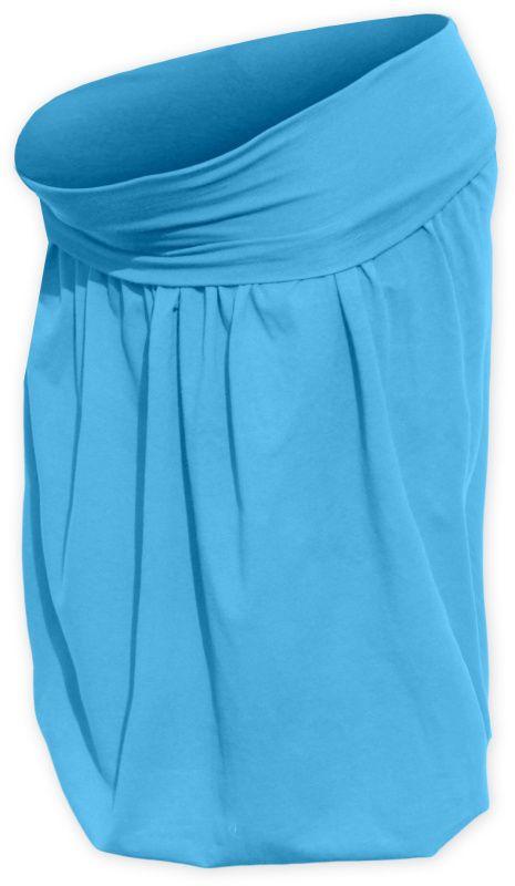 Těhotenská sukně balonová sabina, tyrkysová l/xl