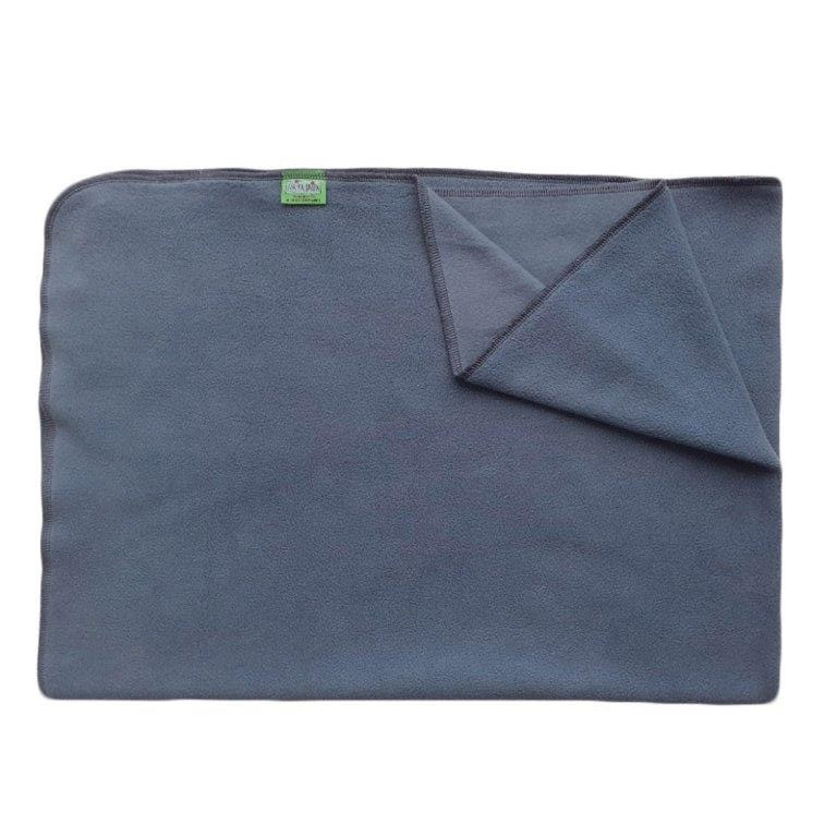 Deka do kočárku lehká, fleece, modrá, rozměr 70x100cm