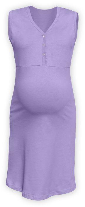 CECILIE- Nachthemd für schwangere und stillende Frauen, ohne Ärmel, Lavendel