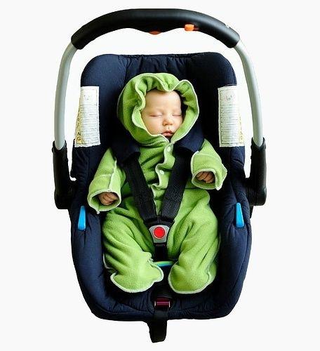 Fleece pramsuit for babies S (sizes 56-62)