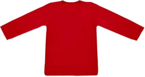 Children's T-shirt, long sleeve, red