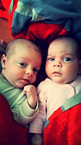 Třetí měsíc s dvojčátky aneb z maminky se stává chlap