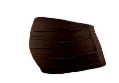 Maternity belly belt, CHOCOLATE BROWN