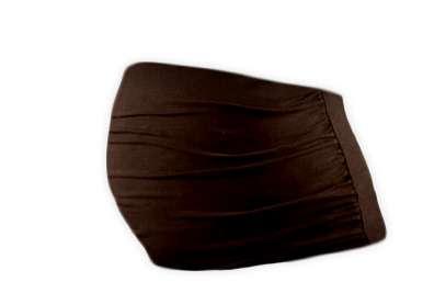 Těhotenský pás čoko hnědý l/xl