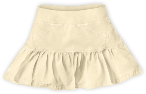 Girl's skirt, beige