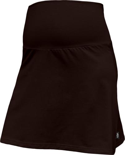 Maternity skirt Jolana, CHOCOLATE BROWN