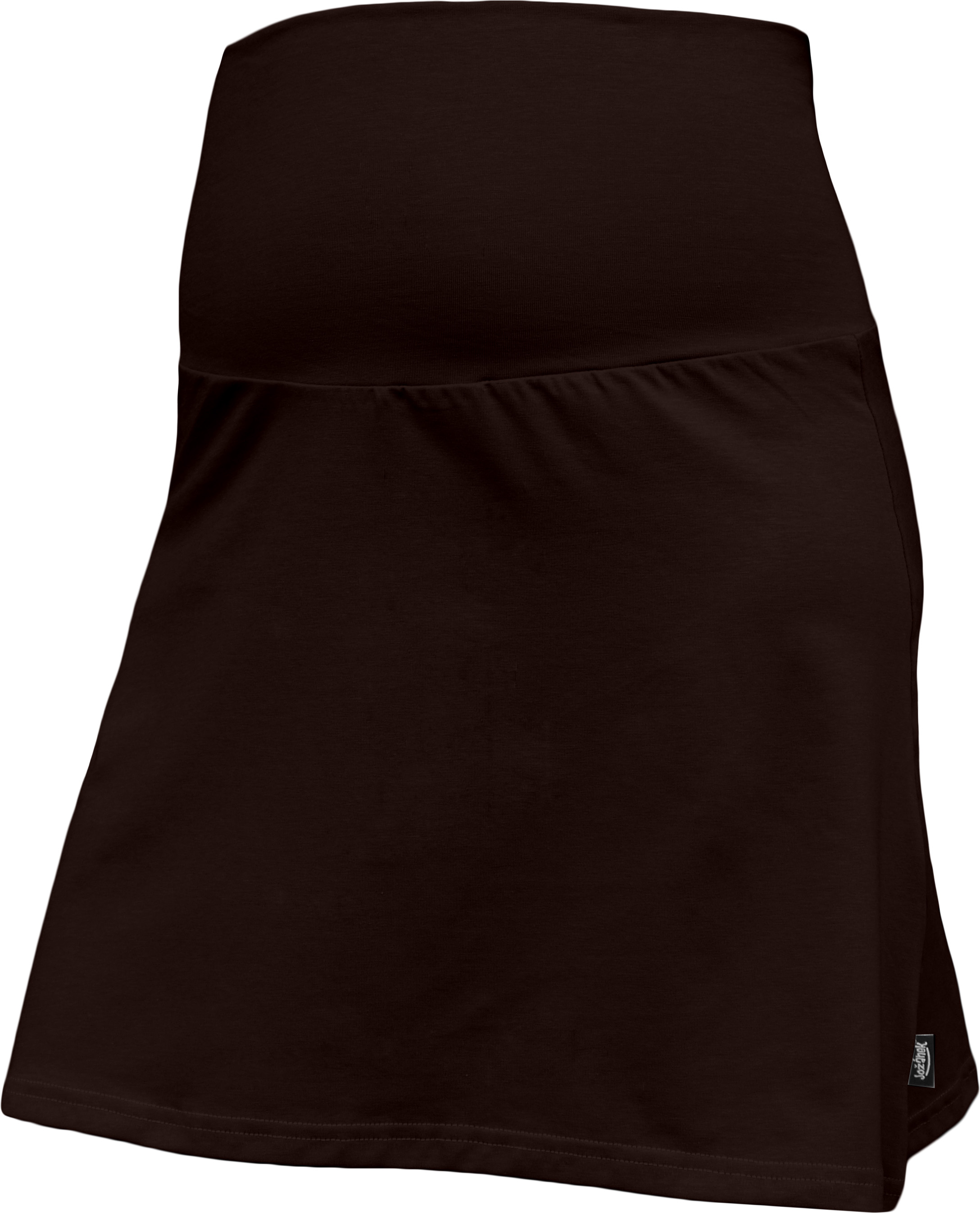 Těhotenská sukně Jolana, hnědá
