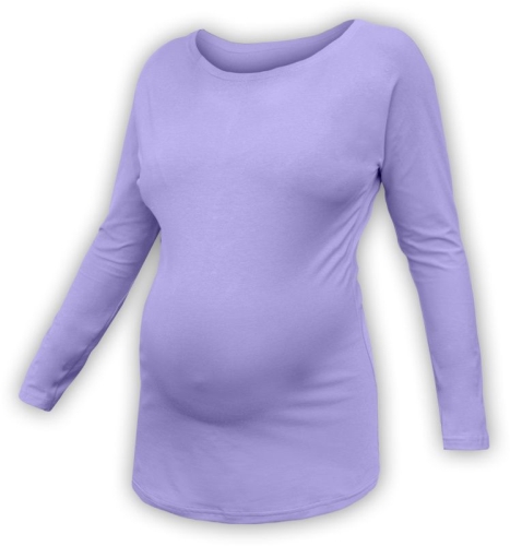 Tehotenské tričko s netopierími rukávmi Nikola, DLHÝ rukáv, orgovánová