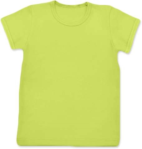 Children's T-shirt, short sleeve, light green