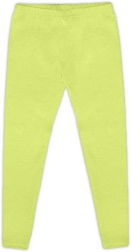 Children's leggings, light green