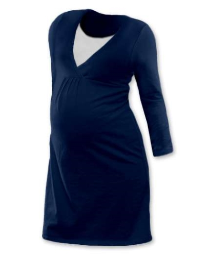 Maternity and breast-feeding nightdress, JEANS