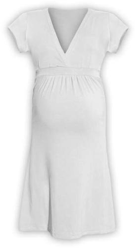 Tehotenské šaty Šarlota, smotanové