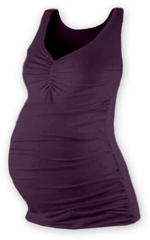 Tehotenské tielko Tatiana, slivkovo fialové