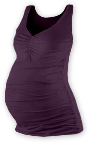 TATIANA- maternity top, PLUM VIOLET
