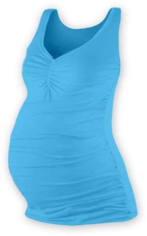 TATIANA- maternity top, TURQUOISE