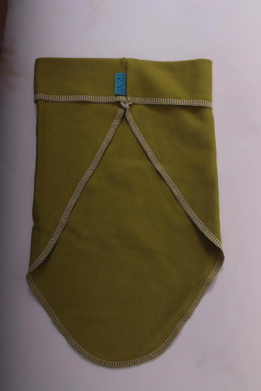 Bio-šátek na hlavu, zelený, s