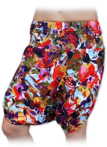 Short TURKISH / SULTAN maternity trousers, PRINT03