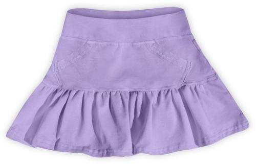 Dívčí (dětská) sukně,  LEVANDULOVÁ (světle fialová)