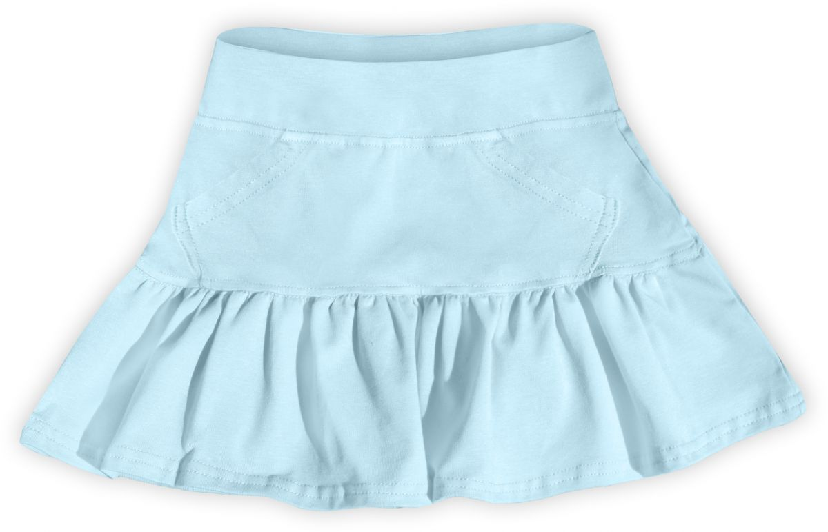 Dívčí (dětská) sukně,  SVĚTLE MODRÁ