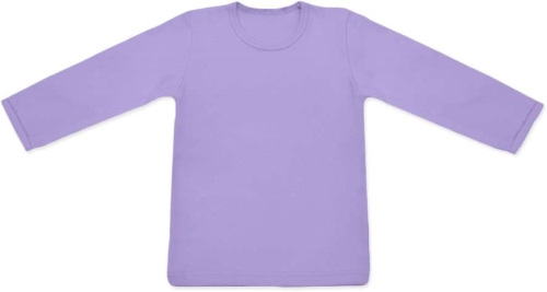 Children's T-shirt, long sleeve, lavender