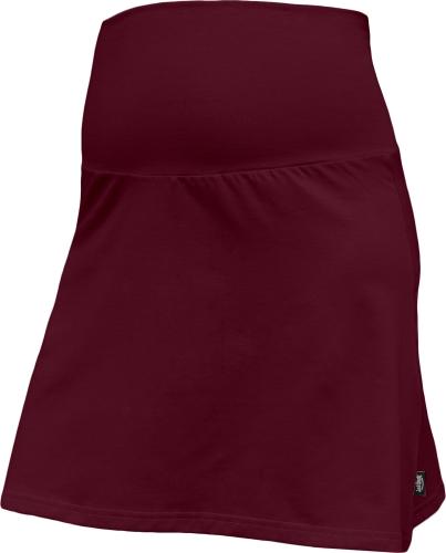 Těhotenská sukně Jolana, bordo