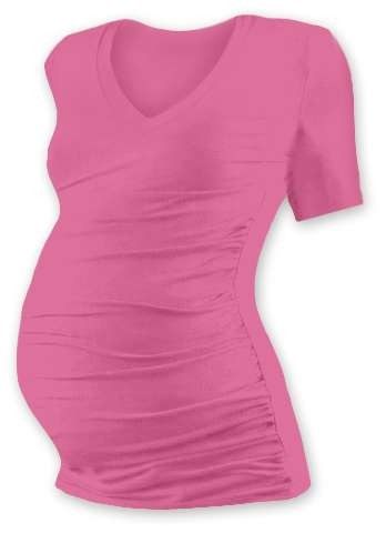 VANDA- maternity T-shirt, short sleeves, PINK