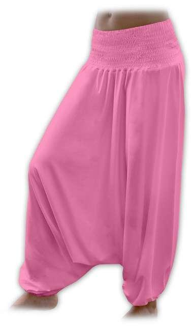 Türkische Hose für Schwangere, rosa