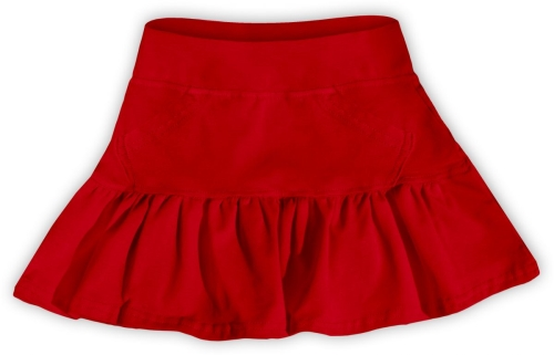 Girl's skirt, red