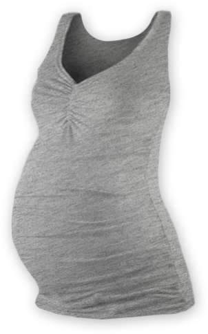 Maternity top Tatiana, GREY MELANGE