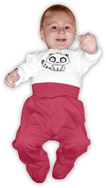 kojenecké polodupačky, elastické