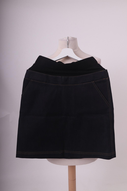 Těhotenská riflová sukně, 38