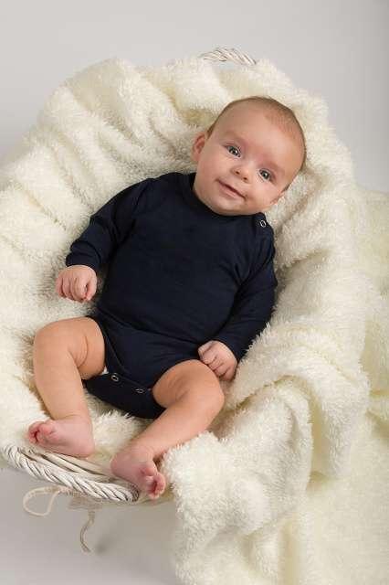 Body für Babys, dunkelblau