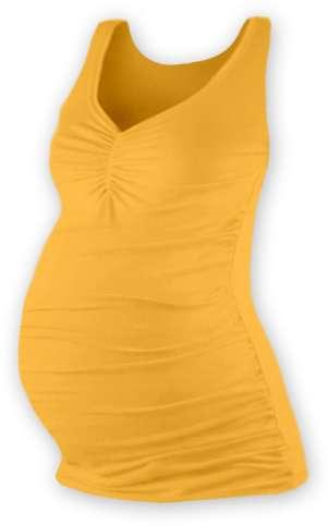 Těhotenské tílko tatiana, oranžové l/xl