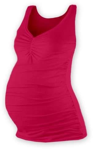 Těhotenské tílko Tatiana, sytě růžové