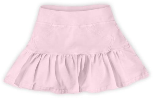 Dívčí (dětská) sukně,  SVĚTLE RŮŽOVÁ